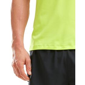 2XU GHST Camiseta Manga Corta Hombre, wild lime/wild lime